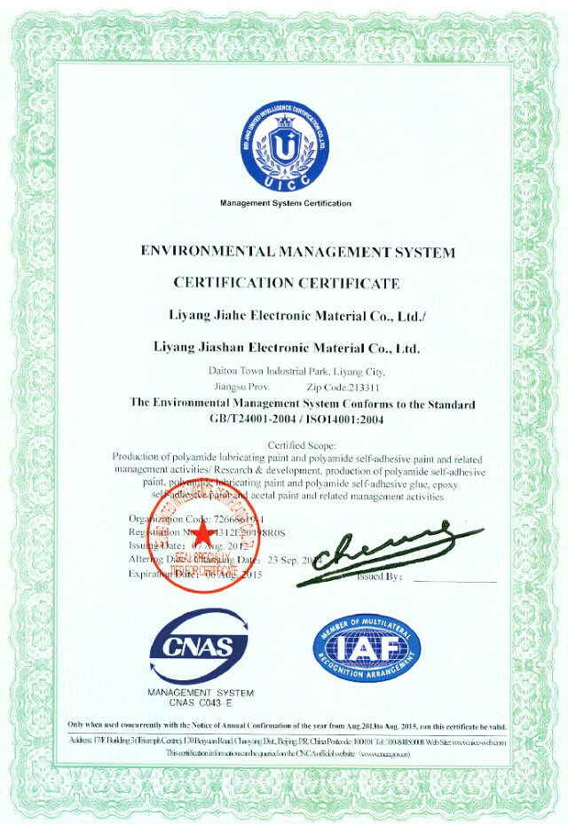 Identification of environmental system</div>